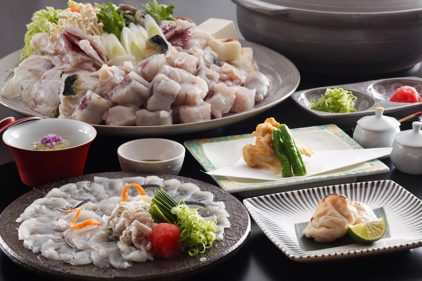 淡路島3年とらふぐのお料理